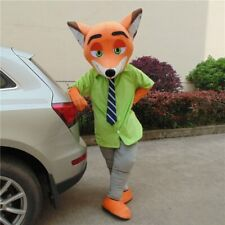 Cartoon Animals Nick Mascot Costume Suit Cosplay Party Fancy Dress Outfit Adult