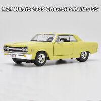 Maisto 1:24 Scale 1965 Chevrolet Malibu SS Diecast Car model Collection W/Case