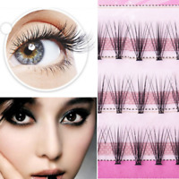 60pcs 8/12mm Curl Natural Makeup Individual Eye Lashes False Eyelashes Extension
