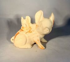 Alabama Clay Pottery-Pig with Piglet Sculpture-Handmade-Wetumpka, AL