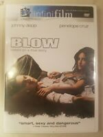 Blow (DVD, 2001) Widescreen Johnny Depp, Penélope Cruz *Combine Ship! Ships FAST