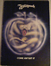 WHITESNAKE Come An' Get It Ex 1980 UK Tour Book
