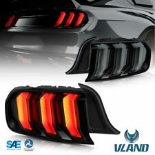 Geräuchert LED-BAR-Rückleuchten Für Ford Mustang GT 15-UP Sequentieller Blinker