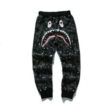 BAPE A BATHING APE SPACE CAMO SHARK SWEARER FULL ZIP COAT JACKET HOODIE  MEN S 3099fb9d37