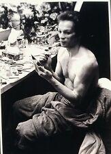 Rudolf Nureyev - Russian Dancer - Original 35mm B/W Slide - 1984