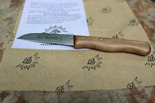 Eye Brand Carl Schlieper Paring Knife - Wood Handle Carbon Steel Blade