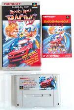 ROCK'N ROLL RACING Nintendo Super Famicom SFC SNES Japan