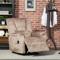 Electric Power Lift Recliner Elderly Armchair Lounge Seat Sofa Chair Living Room