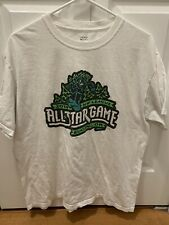 Minor League Baseball Tee-Shirt Eugene Emeralds  2014 Size Large L MILB ASG
