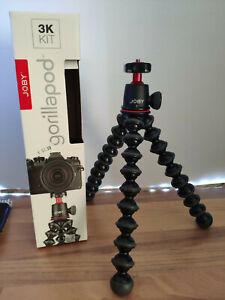 Joby GorillaPod 3K Kit Stativ - Schwarz/Charcoal (JB01507) max. 3kg
