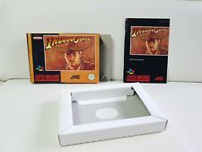 Super Nintendo Indiana Jones Ovp + Anleitung Snes 1 Tag Auktion