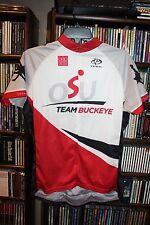 Ohio State Buckeyes OSU Team Buckeye Cycling Jersey Shirt Ladies XXL  (b123)