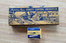 American Flyer 706 Remote Control Uncoupler With Controller & Both A.F.Boxes