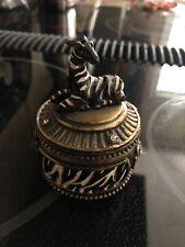 Stamp Dispenser Zebra and Jeweled