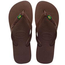 Sandali e scarpe marrone per il mare da uomo dal Brasile