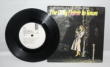 "7"" Single - Elvis Costello - The Only Flame In Town - F-Beat XX37 - 1984"