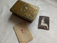 More details for original ww1 1914 princess mary christmas gift tin with photo & christmas card