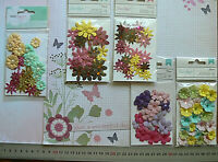 Assorted Sml Paper Flower 28 per Pack 15-25mm - 5 type Choice American Crafts