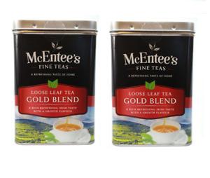 McEntee's Irish Loose Leaf Gold Blend Tea - 500g  - (Pack of Two)