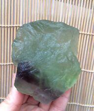 352g Beautiful natural  green fluorite quartz crystal specimens  E1521