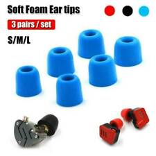 Replacement Memory Foam Ear Buds Tips Eartips Set For Earbuds Earphone Headset