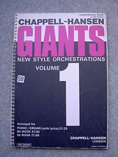 Chappell Hansen's Giants - 50 pieces for piano/organ