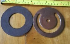 2pc  PITCHER PUMP Repair Parts LOWER VALVE ~NOS USA Leather Caldwell #4816 #4819