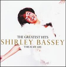 SHIRLEY BASSEY - GREATEST HITS: THIS IS MY LIFE CD ~ BEST OF / JAMES BOND *NEW*