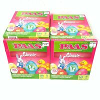 New Sealed -  PAAS Classic Easter Egg Decorating Kit Lot of 21