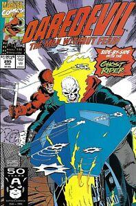 Daredevil Comic 295 Copper Age First Print 1991 Chichester Weeks Morelli