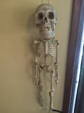 """Gemmy Animated DANCING SKELETON Halloween Prop 28"""" Works Scary Fun Decoration"""