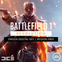 Battlefield 1 Revolution - Origin Key   REGION FREE   BF 1   PC CD / Code