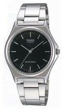 Casio MTP1130A-1A Men's Standard Stainless Steel Black Dial Casual Dress Watch