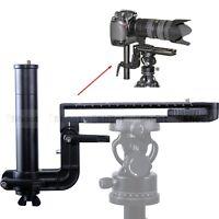 Telezoom Objektiv Halterung Objektivschiene Kameraplatte für Stativ Kugelkopf