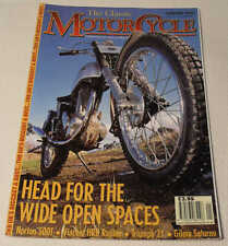 Classic MC Jan 2001 Brown, AJS Model S5, Vincent HRD, Norton 500T, Laverda 1200T