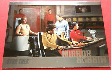 "STAR TREK TOS 50th Anniversary - MM15 ""MIRROR, MIRROR"" (uncut) - Foil Chase Card"