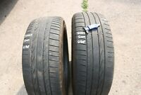 PAIR OF BRIDGESTONE DUELER HP 255/55/R19 111H TYRES *5MM NO REPAIRS*