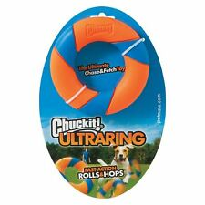 Chuckit! Ultra Ring Chase Durable Rubber Roll Erratic Bounce Ball Dog Fetch Toy