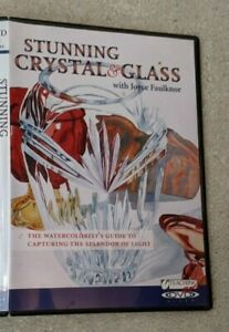 Stunning Crystal & Glass with Joyce Faulknor Watercolor Art instruction DVD