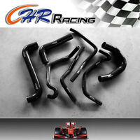 For HOLDEN COMMODORE VY V8 5.7L LS1 Silicone radiator heater hose BLK 02 03 04