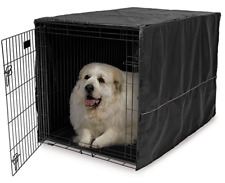 "48"" Extra Large Giant Breed Dog Crate Kennel XL Pet Wire Cove Cage Huge Folding"