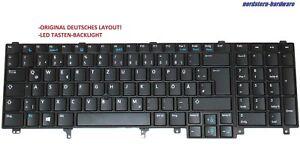 Dell Precision M6700 Tastatur Keyboard, deutsch, LED beleuchtet Backlit