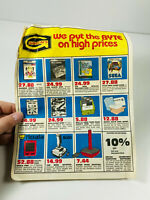 Gibson's Discount Store Computer Advertising Commodore 64 Atari video games