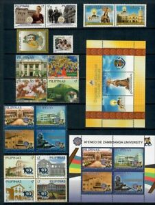 (RP12) PHILIPPINES - 2012 COMPLETE YEAR STAMP SETS WITH SOUVENIR SHEETS. MUH