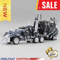 Technic MOC Mad Max The War Rig MOC 18143 Max Movie Collection Building Blocks