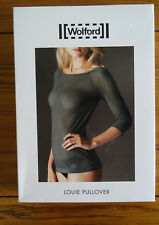 Wolford Louie Pullover M Navy New in Box