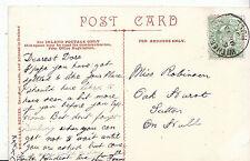 Genealogy Postcard - Family History - Robinson - Sutton on Hull  BS130