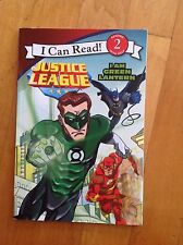 """Justice League """"I am Green Lantern"""" Chapter  Book Level 2"""