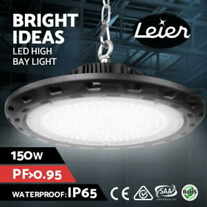 Leier High Bay LED Lights Lamp 150W Industrial Shed Factory Warehouse Light UFO
