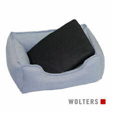 Wolters Dog Lounge Noble Stripes denim/granit 80 x 65 cm